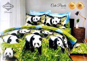 Sprei Kendra Premier Motif Cute Panda